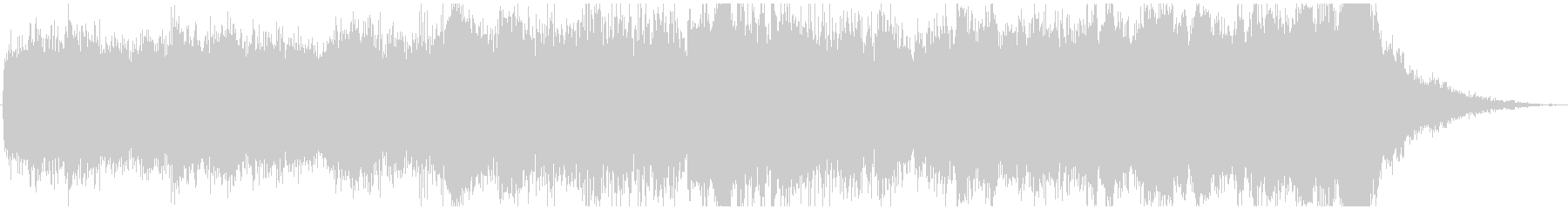 ドローン ジューシー01の未再生の波形