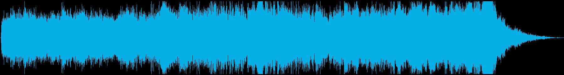 ドローン ジューシー01の再生済みの波形