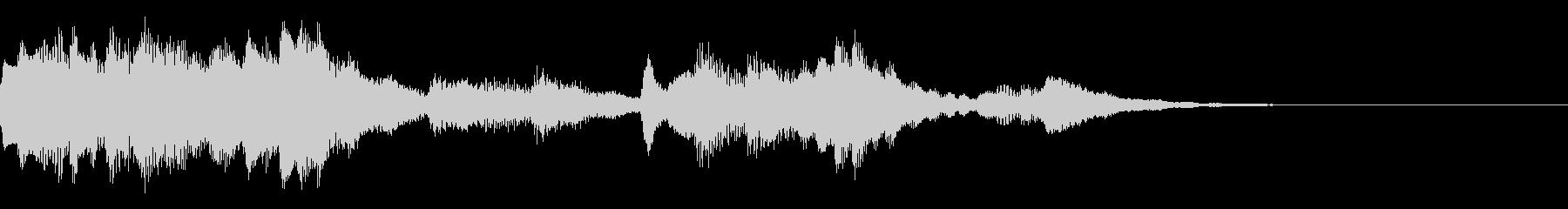 神秘的なクリスタル音06- ジングルCMの未再生の波形
