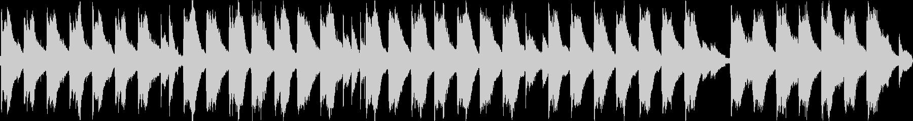 切ない雰囲気のアコギのアルペジオの未再生の波形