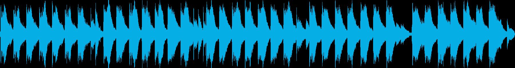 切ない雰囲気のアコギのアルペジオの再生済みの波形