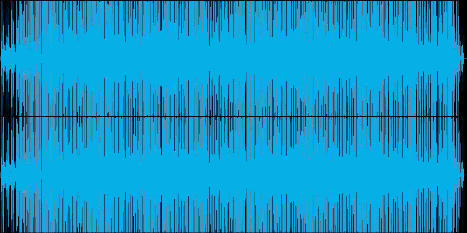 ゆったりめアコースティックなクラブ音楽の再生済みの波形