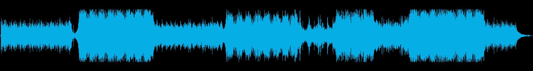 疾走感あるドラマチックポップロックの再生済みの波形