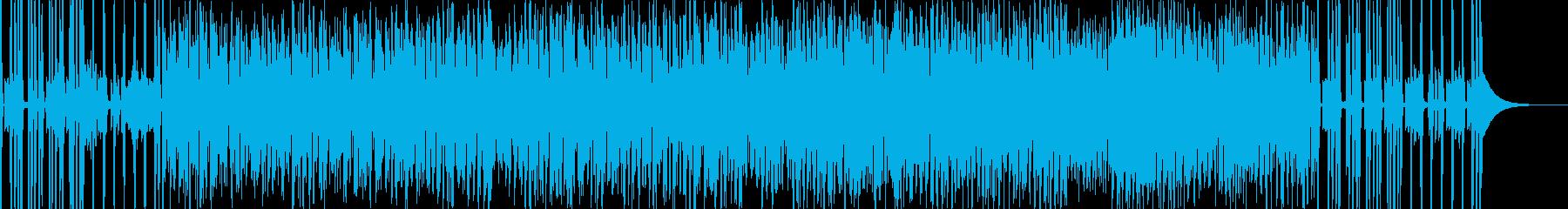 情熱的なイメージの楽曲。裏打ちレゲエ系。の再生済みの波形