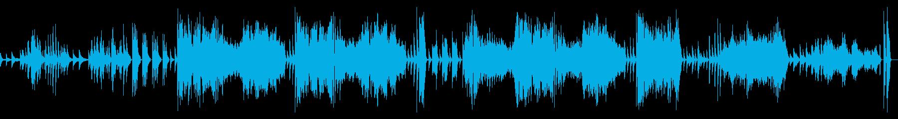 告別 第一楽章 ベートーヴェン ピアノ の再生済みの波形