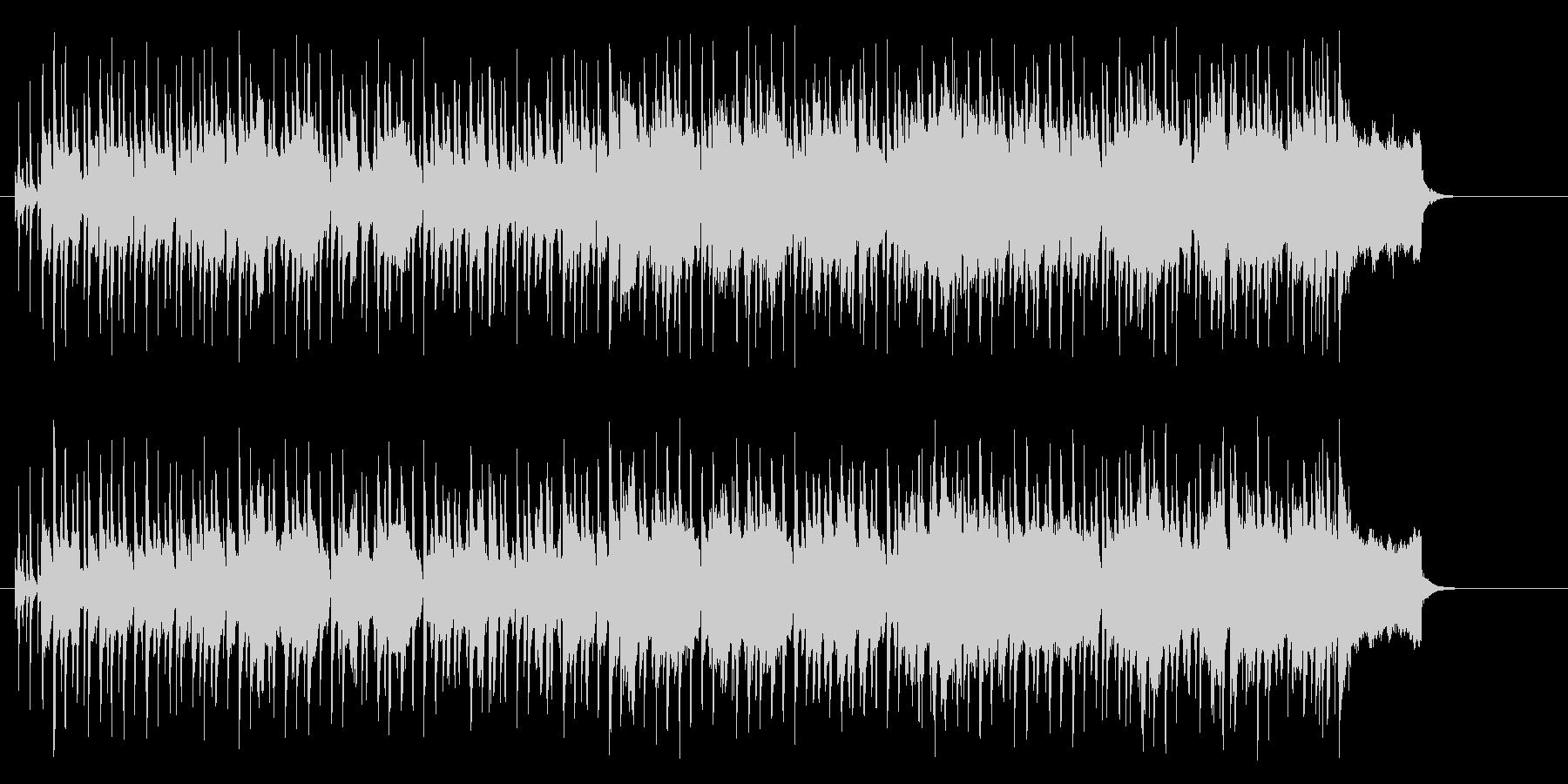 ポップ・レゲエ(明るく爽やかな感じ)の未再生の波形