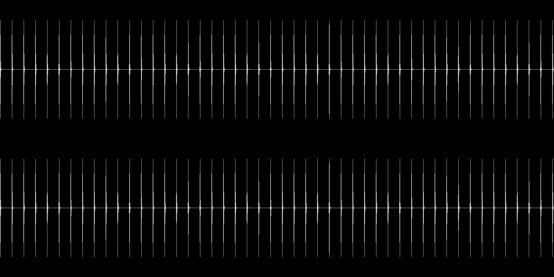 タイマーの爆発と爆弾の未再生の波形