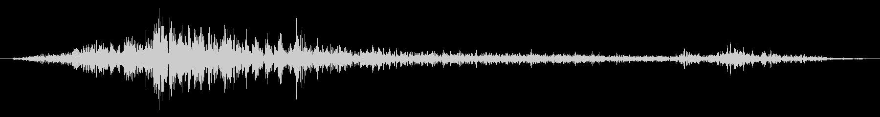 スモールメタル基底ウィンドウ:スラ...の未再生の波形