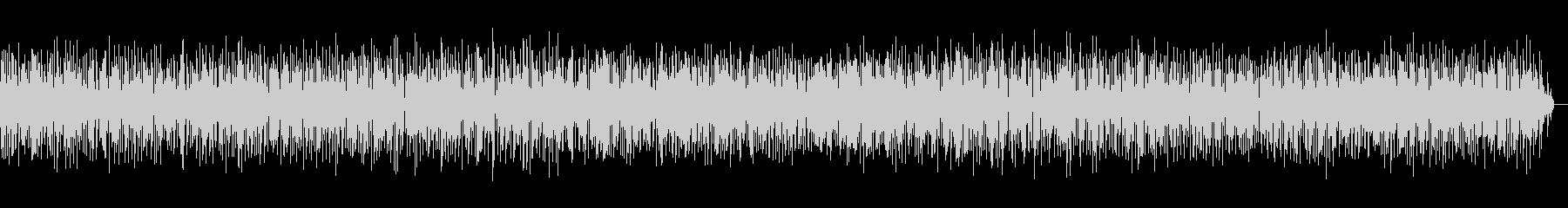 アコーディオンジャズのカフェミュージックの未再生の波形