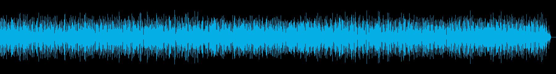 アコーディオンジャズのカフェミュージックの再生済みの波形