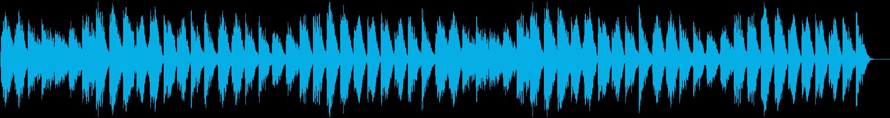 ヨガや瞑想に使える音楽(シンセ)の再生済みの波形