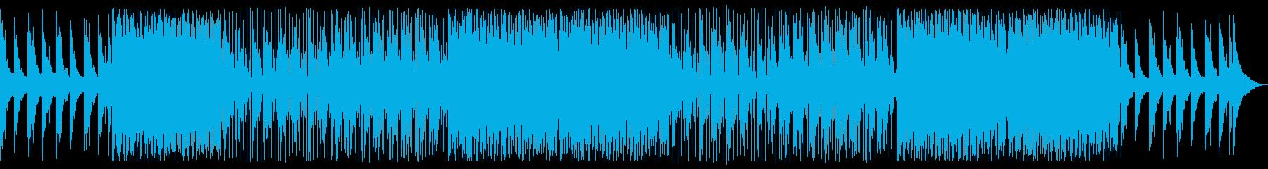 キラキラとしたエモーショナルなエレクトロの再生済みの波形