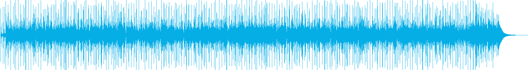 スラップベースがかっこいいファンキーの再生済みの波形