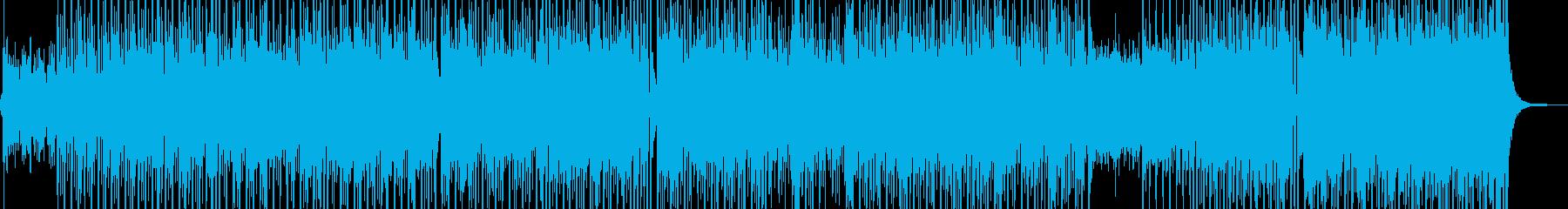 遥かな旅の門出・踊れる和風テクノ Aの再生済みの波形