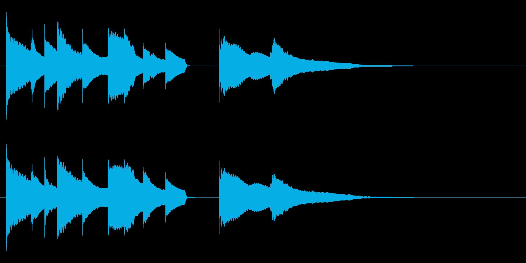 エンディング E. ピアノソロ の再生済みの波形
