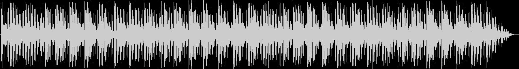 無機質なエレクトロの未再生の波形