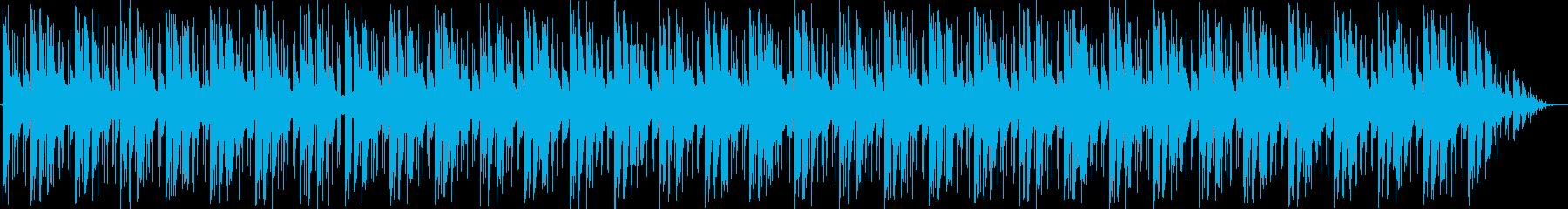 無機質なエレクトロの再生済みの波形