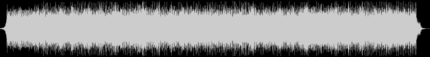 シンセベースメインのクールなハウス系楽曲の未再生の波形