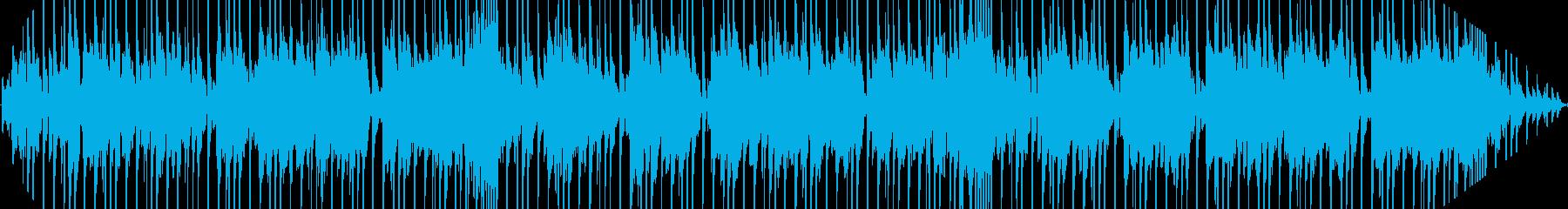 マイナーブルースギターの再生済みの波形