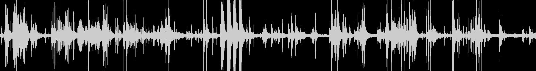鳥の鳴き声(ピーピー・ピヨピヨ)の未再生の波形