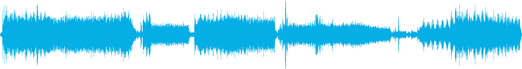 ボートモーターハッチモーターの再生済みの波形