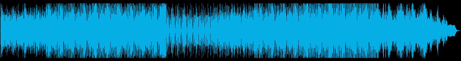 シリアスな雰囲気のトランスナンバーの再生済みの波形