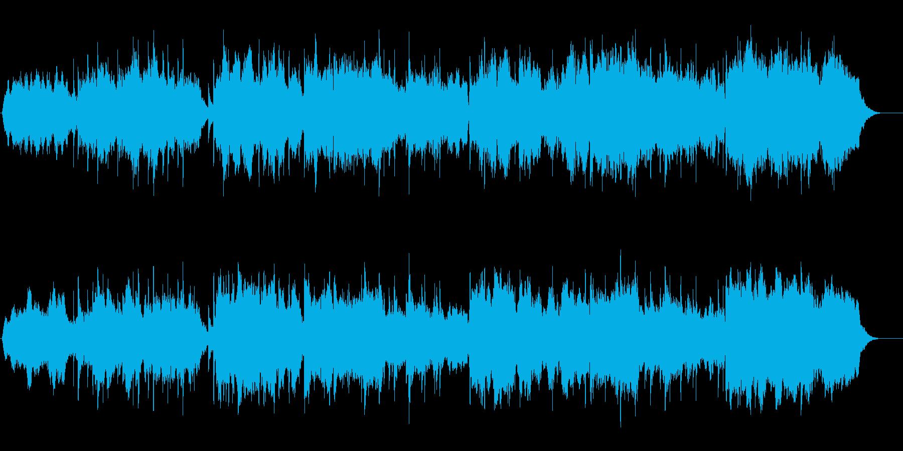 どっぷりとひたる感じのニューエイジの再生済みの波形