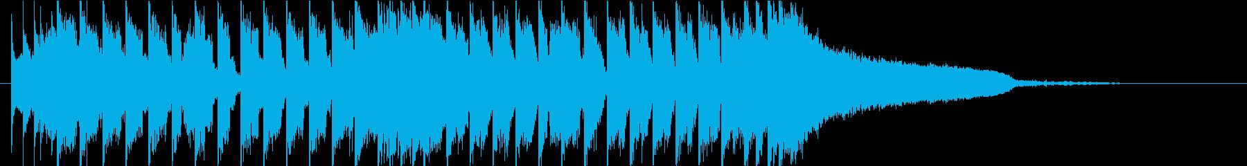 ベースハウス EDM ダンス かっこいいの再生済みの波形