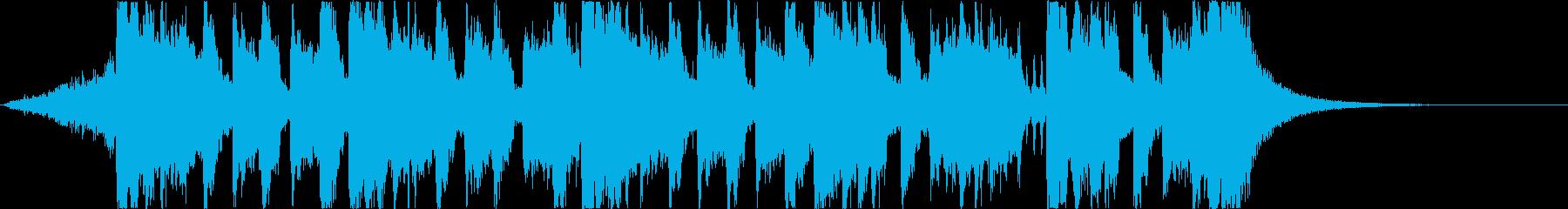 コミカルで楽しいハロウィンホラーソングcの再生済みの波形