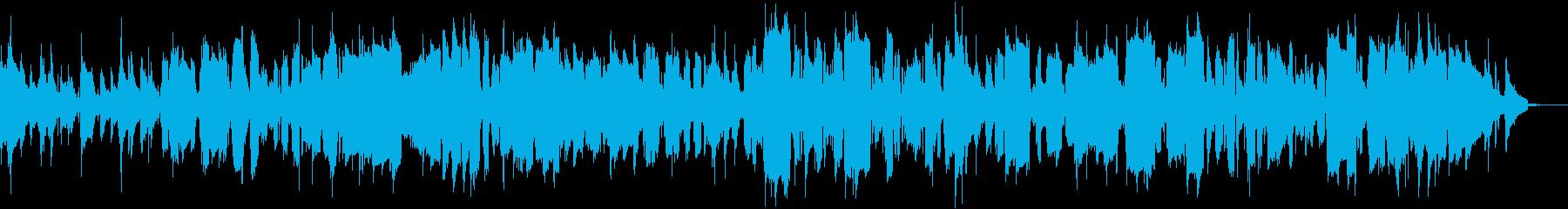 アルトサックスによるモダンジャズナンバーの再生済みの波形