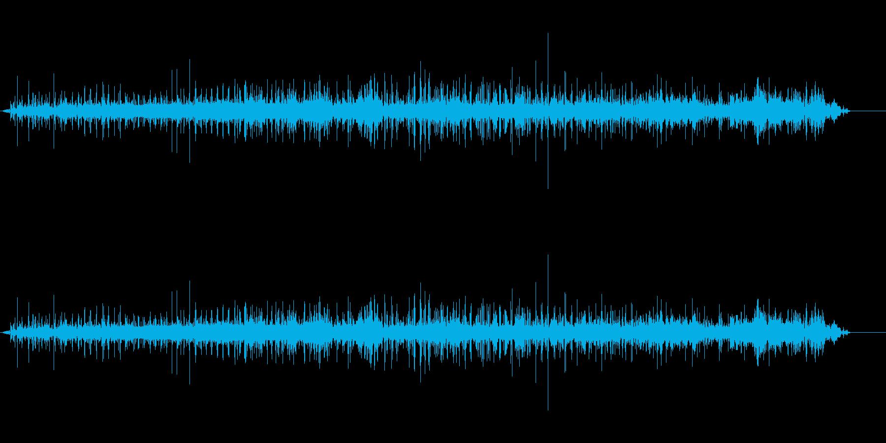 馬-ゆっくりと鐘のある馬車の再生済みの波形