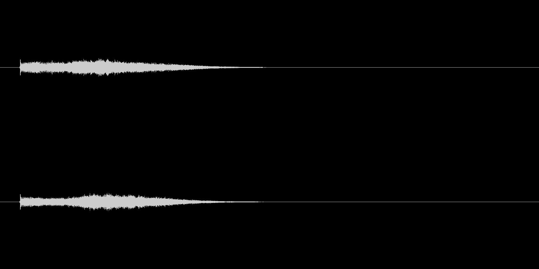 ジングル(場面転換風)の未再生の波形