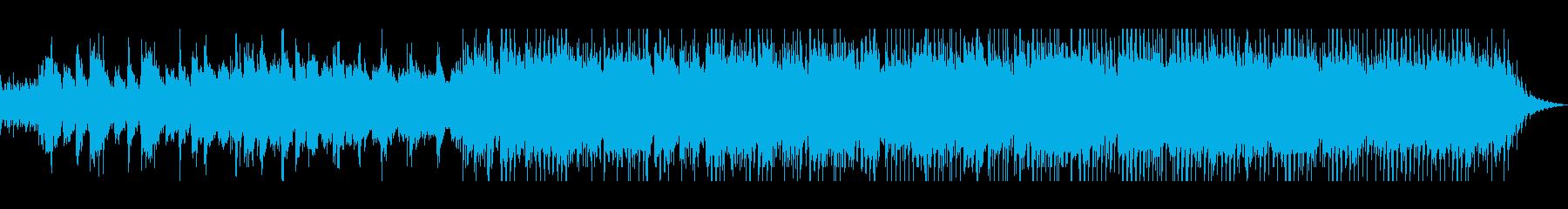 生演奏のアコーディオンが心地よい曲の再生済みの波形