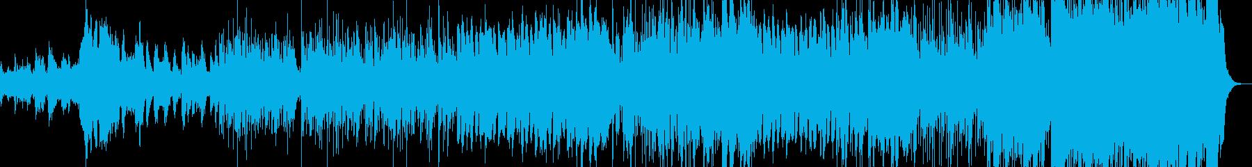 暗いインストの再生済みの波形