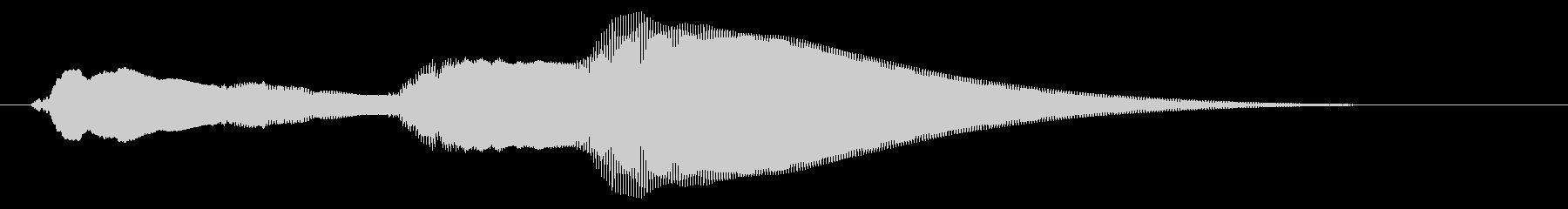 チャイム アナウンス07-6の未再生の波形