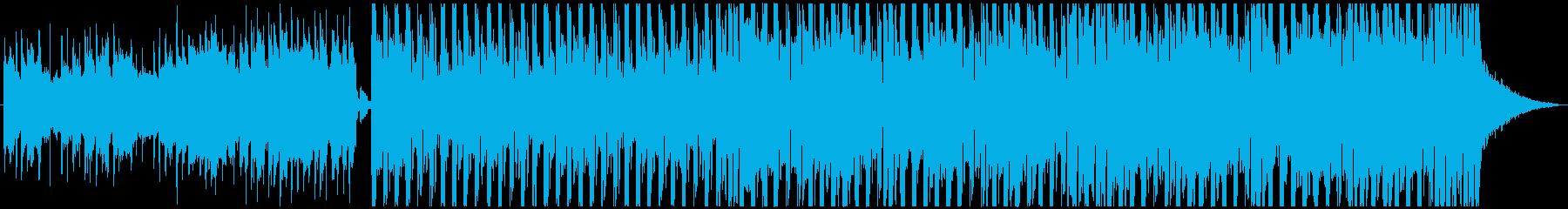 シンプルで反復的なギターリフに基づ...の再生済みの波形