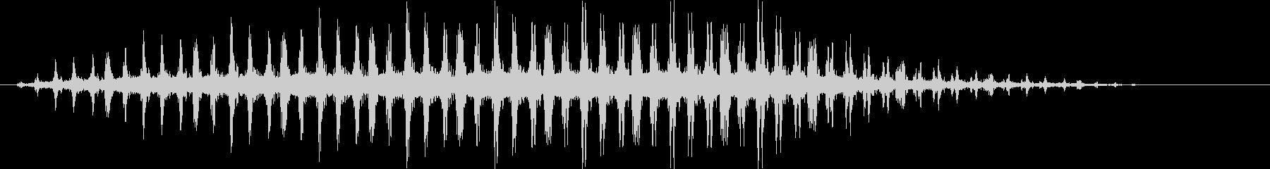 バラバラバラバラ… (ヘリコプターの音)の未再生の波形