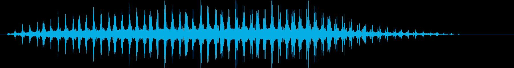バラバラバラバラ… (ヘリコプターの音)の再生済みの波形
