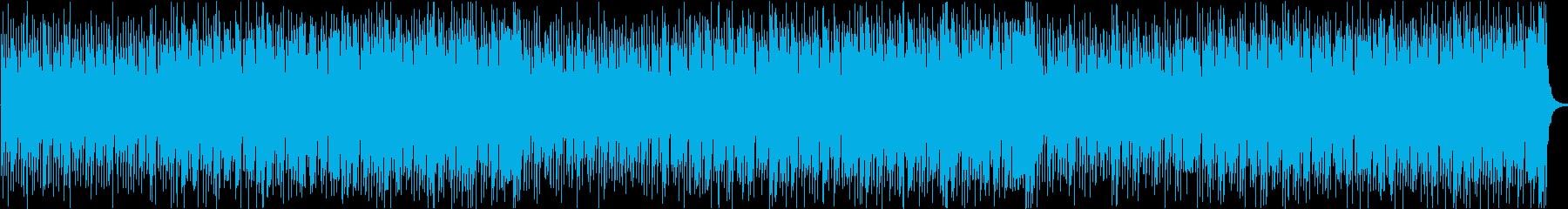 軽快爽やか楽しい夏ハワイレゲエラテン曲aの再生済みの波形