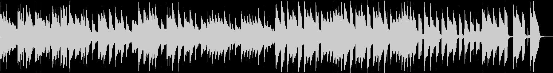 8bit コミカルなダークメルヘンBGMの未再生の波形