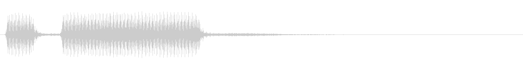 [ブブー] 不正解・エラー_鋸Mix 2の未再生の波形