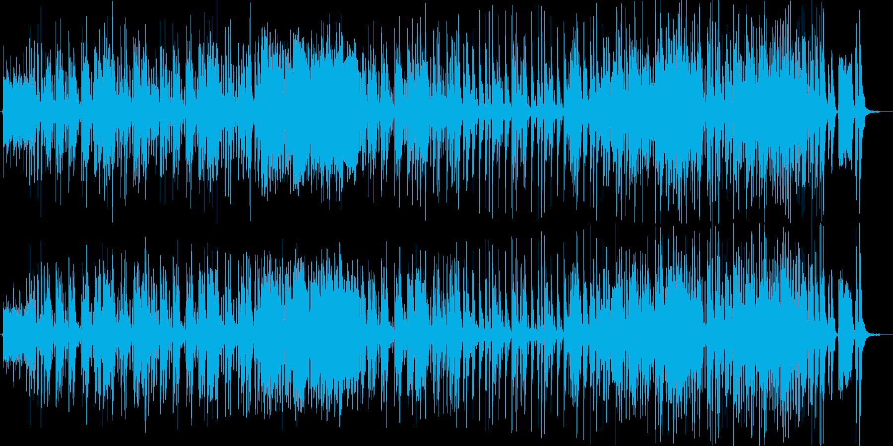 可愛く優しい軽快なファンタジーポップの再生済みの波形