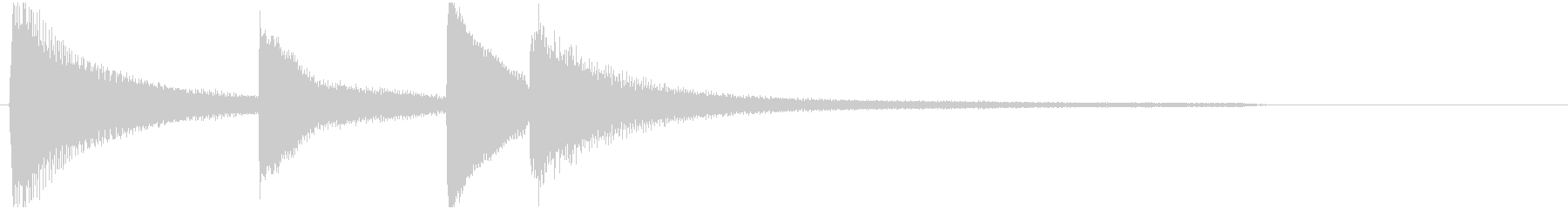 Dissapointing piano phrase Am's unreproduced waveform