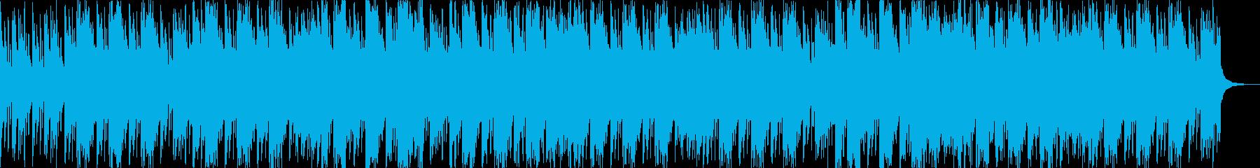 しっとりしたラップ、コーラス入りR&Bの再生済みの波形