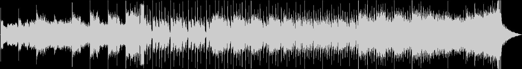 エピック&シンセのダークなオープニング曲の未再生の波形