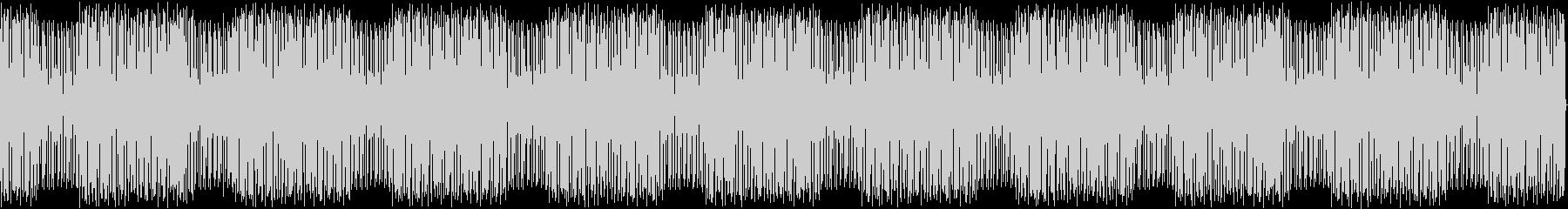 シンセとドラムのPOPでヘンテコBGMの未再生の波形