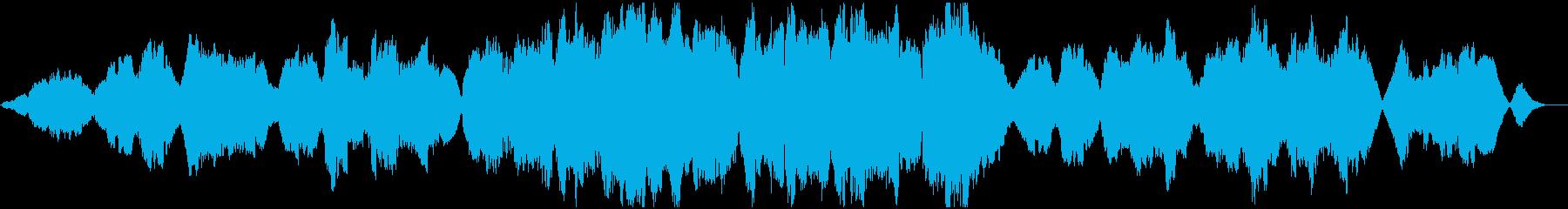 温かく包み込むようなトランペットのBGMの再生済みの波形