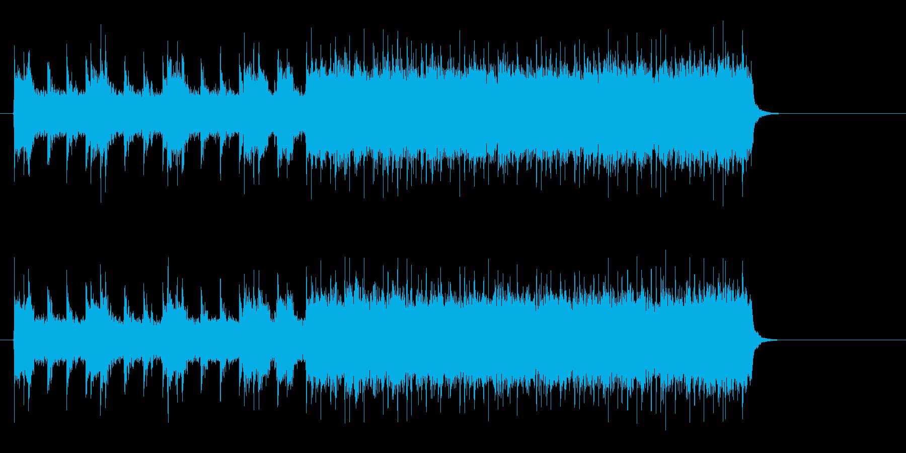 アメリカンロック/ポップ(イントロ~…)の再生済みの波形