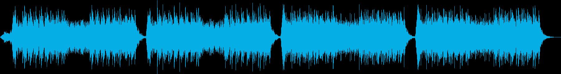 安らぎ音楽に乗せた軽快なメロディの再生済みの波形
