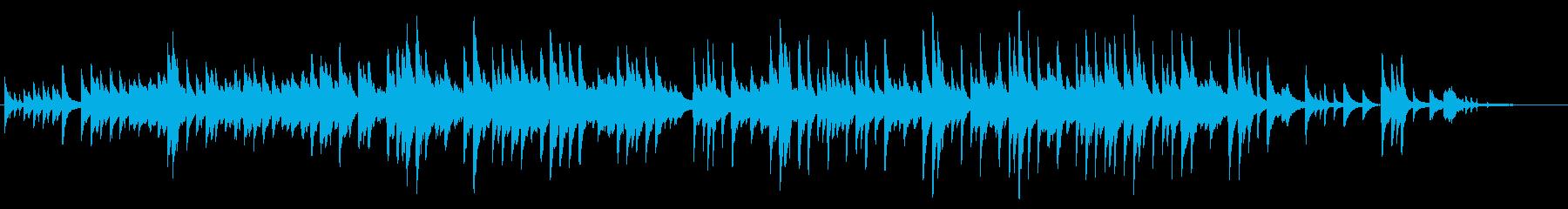 童謡「もみじ」情緒あるオリジナルアレンジの再生済みの波形